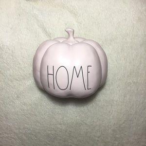 Rae Dunn LL HOME Pink Colored Pumpkin Decor New